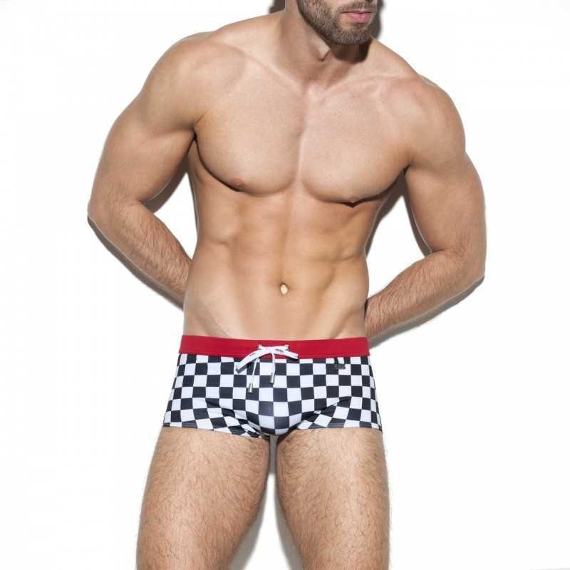 1910 RALLY SWIM SHORT BOXER