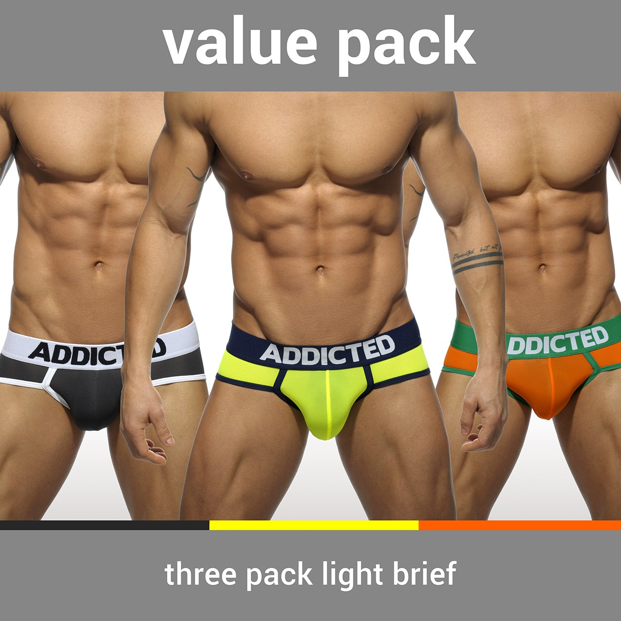 AD402P - 3 PACK LIGHT BRIEF