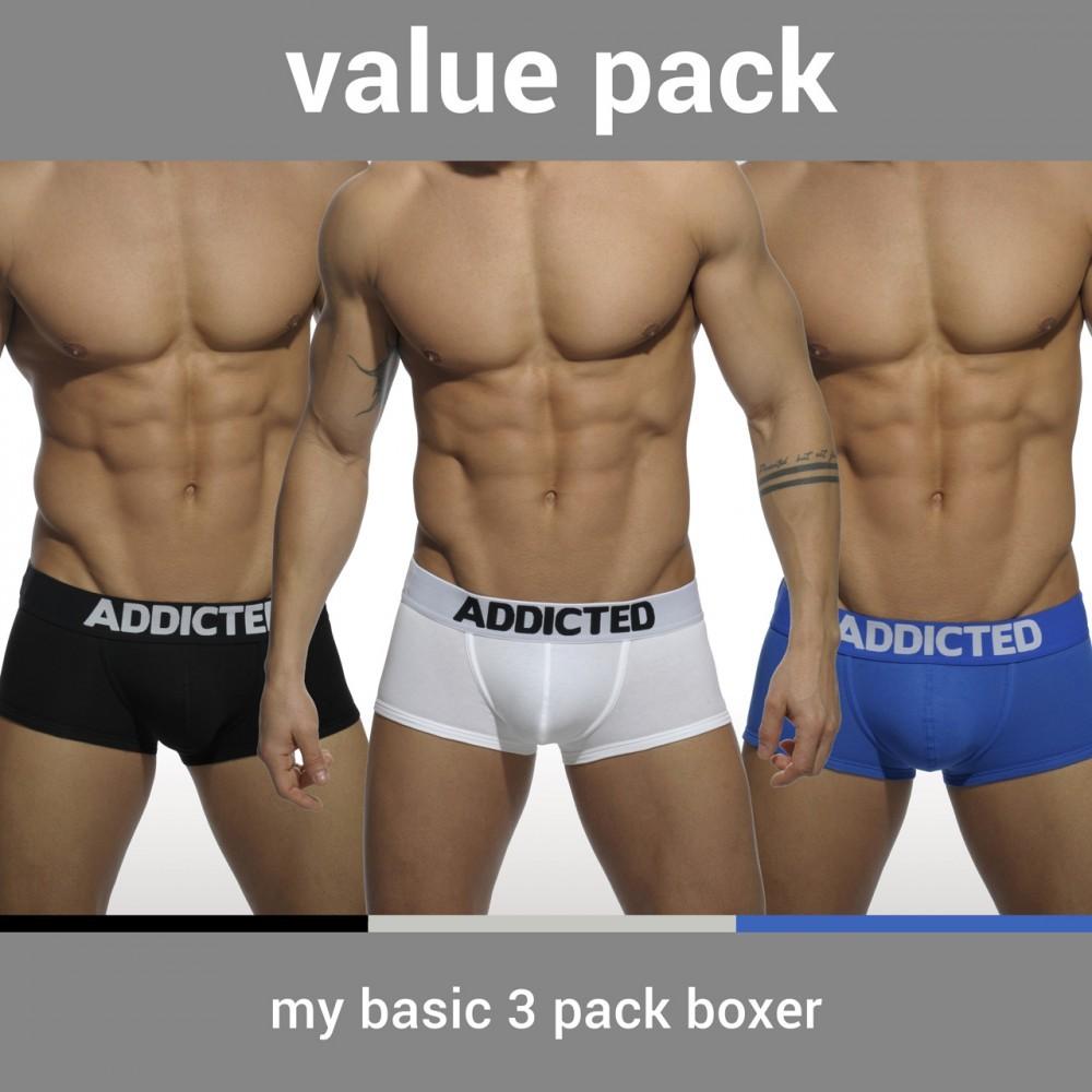 AD421P MY BASIC 3 PACK BOXER