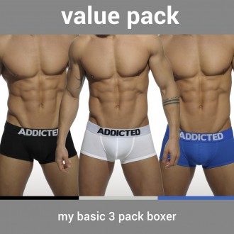 AD421P MY BASIC 3 PACK BOXER