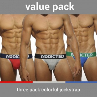 AD363P THREE PACK BASIC JOCKSTRAP