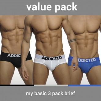 AD420P MY BASIC 3 PACK BRIEF