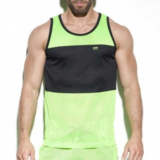 TS232 FIT MESH TANK TOP