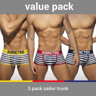 AD965P 3 PACK SAILOR TRUNK