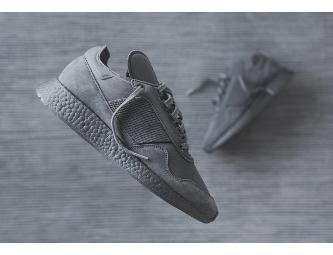 "Daniel Arsham x adidas Originals New York Present ""Grey"" Detailed Pictures"